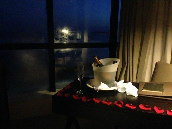 Novotel Florianopolis: Noite romantica