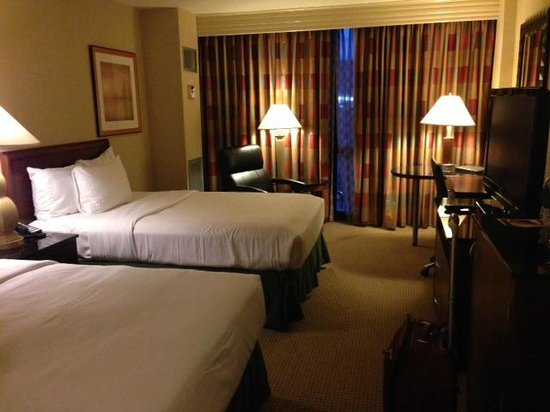 Hilton Chicago O'Hare Airport: standard double room