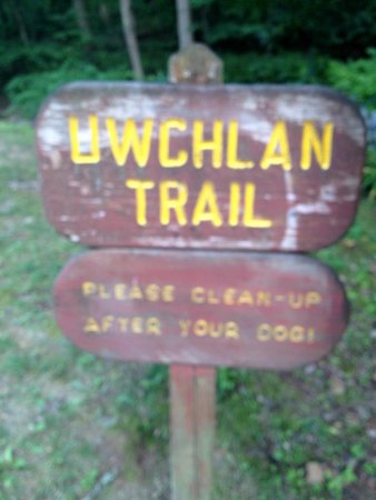 Dowlin Forge Park: Uwchlan Trail is handicapped accessible at Dowlin