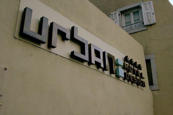 Urban Hotel Design: Logo aussen