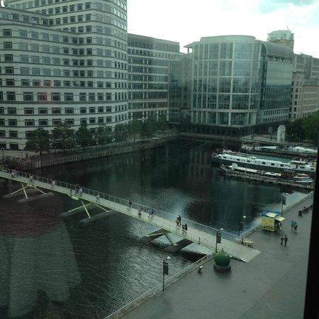 London Marriott Hotel West India Quay : View from our room