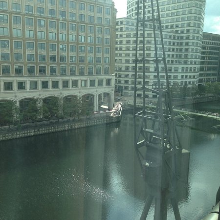 London Marriott Hotel West India Quay: View from our room