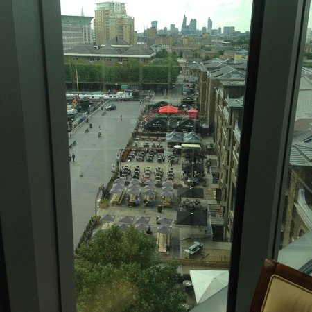 London Marriott Hotel West India Quay: Views from the executive room