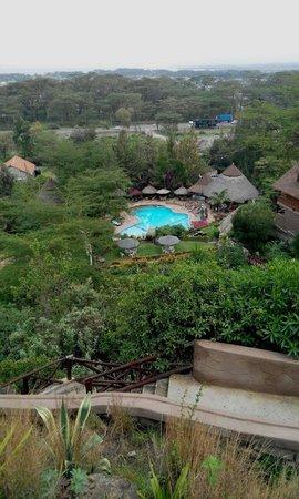 Lake Naivasha Panorama Park & Lodge: From the restaurant