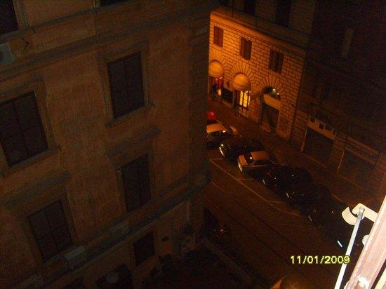 Serena Hotel : Vista para a Via Principe Amedeo