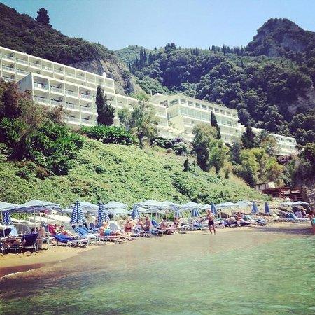 Mayor La Grotta Verde Grand Resort: veiw from the sea