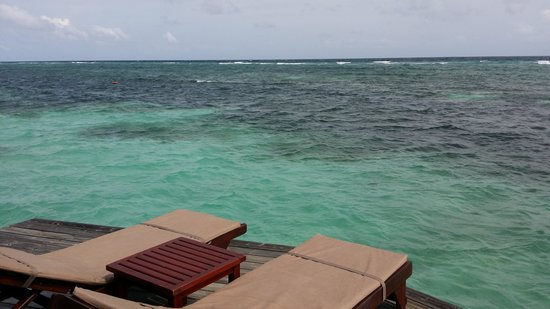 Kuredu Island Resort & Spa: Sangu Water Villa