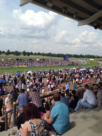 York Racecourse: Saturday view - early in the day