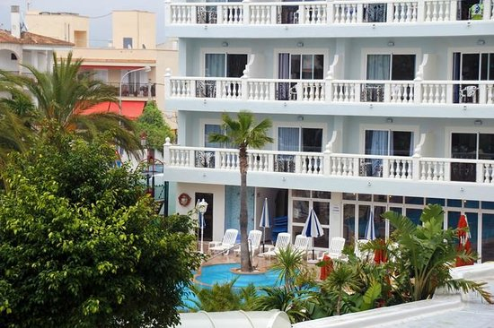 Bahia del Sol Hotel: Aussicht auf den Pool