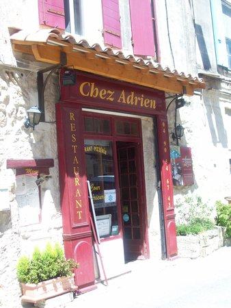 façade de chez Adrien