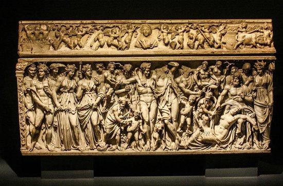 The Walters Art Museum : An elaborate sarchopagus