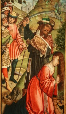 The Walters Art Museum: St. Barbara about to be beheaded
