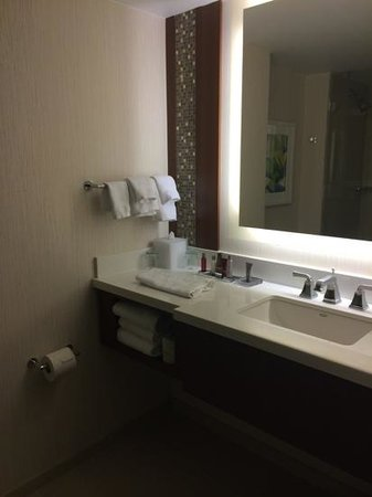 Marriott Marquis Washington, DC: Another bathroom pic