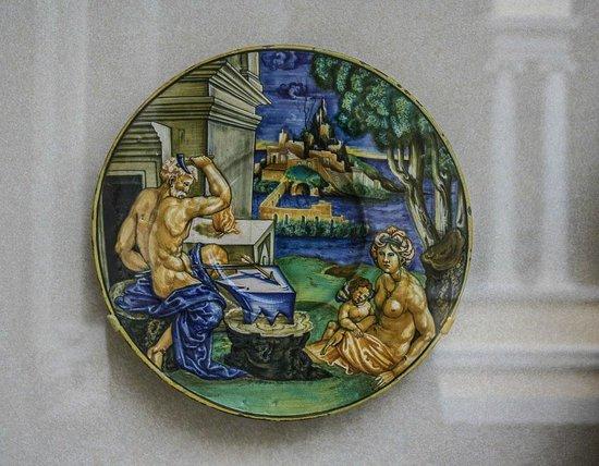 The Walters Art Museum: Vivid ceramic plates