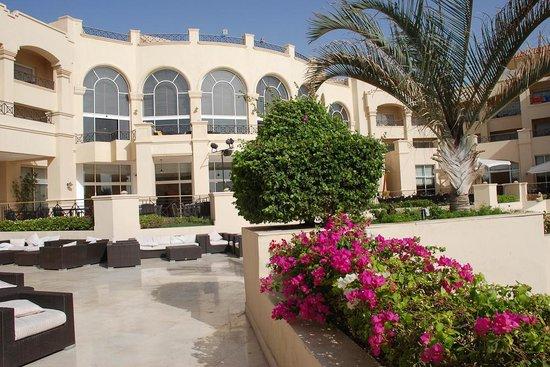 Cleopatra Luxury Resort: Corpo centrale