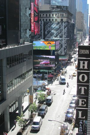 Hotel Edison Times Square : Right in the heart of Midtown Manhattan