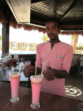 Nubia Aqua Beach Resort : коктельчики