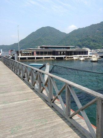 Awashima Marine Park: 水上レストラン