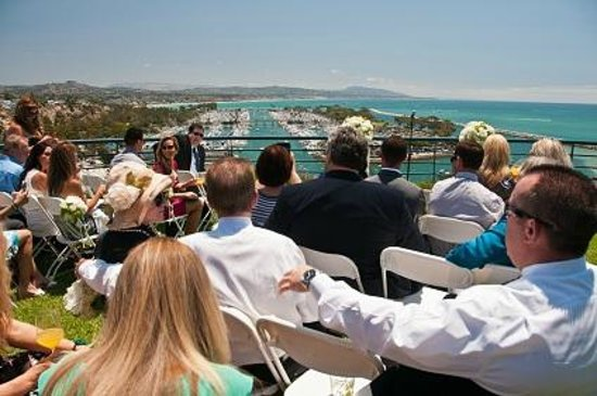 Chart House Restaurant - Dana Point : Stunning Wedding Setting