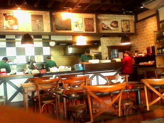 Pizzeria Michelangelo: Inside the Resto