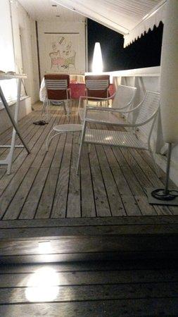 Hotel Eros Residence : terrazzo