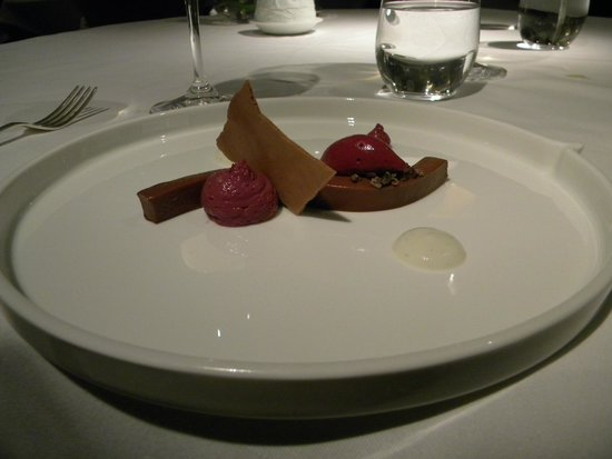 Martin Wishart at Loch Lomond: Dessert - VALRHONA MANJARI CHOCOLATE