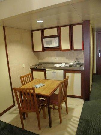 Alto Lido Hotel : Cuisine dans la chambre