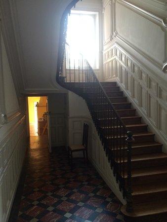 Au Château : Treppenaufgang