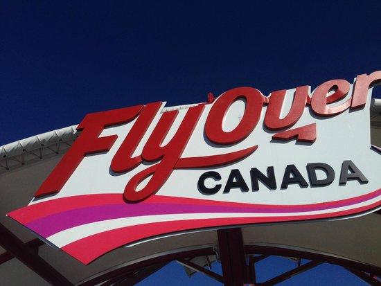 FlyOver Canada : entrance