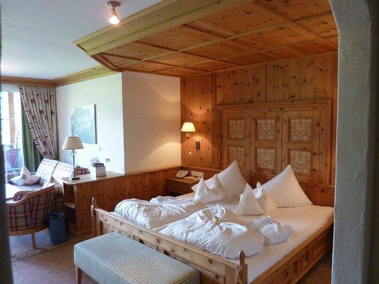 Hotel Post: la chambre