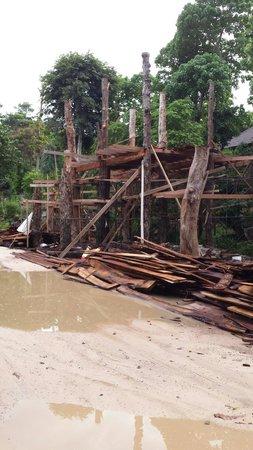Phi Phi The Beach Resort: Building something new near reception
