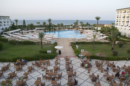 El Mouradi Palm Marina: Udsigt fra restauranten