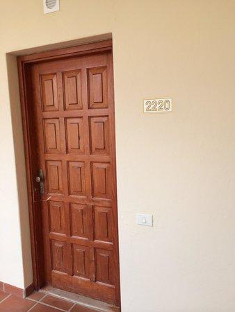 ClubHotel Riu Oliva Beach Resort : Puerta de entrada