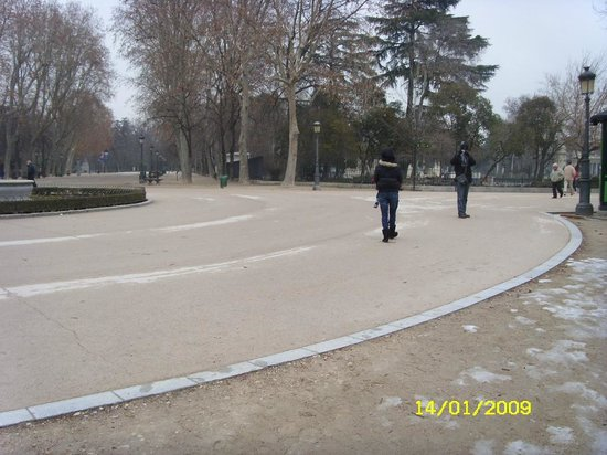 Parque del Retiro: parque do retiro
