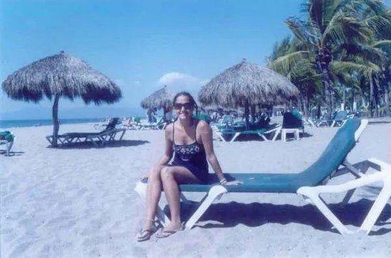 Mayan Palace at Vidanta Nuevo Vallarta: palapitas en la playa privada