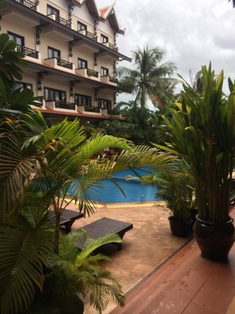 Saem Siemreap Hotel : View from room 101