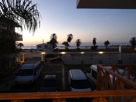 Hotel Emancipador : balcony view