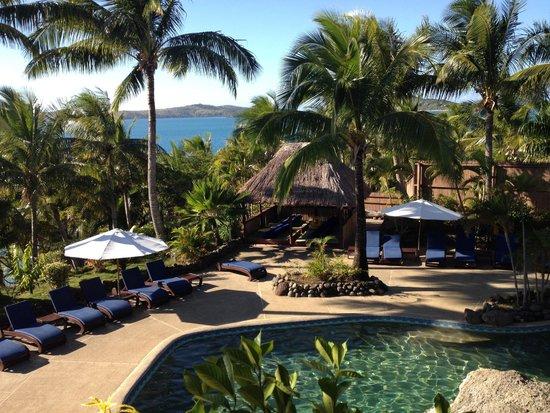 Wananavu Beach Resort : Pool area