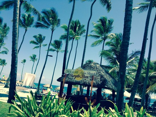 Dreams Palm Beach Punta Cana: Burger Rock.