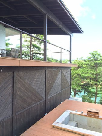 Tenku no Fune: Terrace and private outdoor onsen