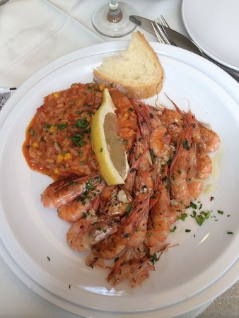 Moskar Konoba: Fried shrimps dalmtian style 105 kuna
