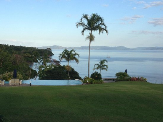 Taveuni Island Resort & Spa : view from dining area