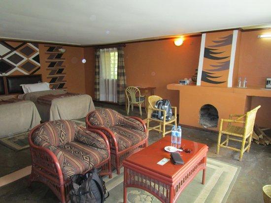 Mountain Gorilla View Lodge: Zimmer