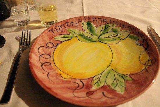 La Tagliata: Beautiful plates