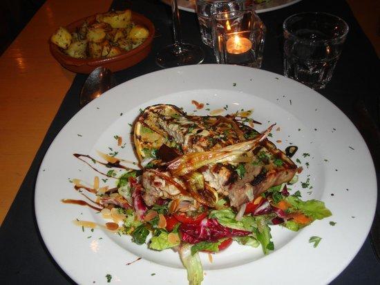 Ristorante Pomorosso: Main course - Grilled swordfish