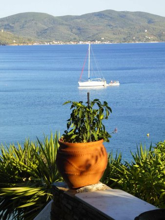 Pounda Paou: view from terrace
