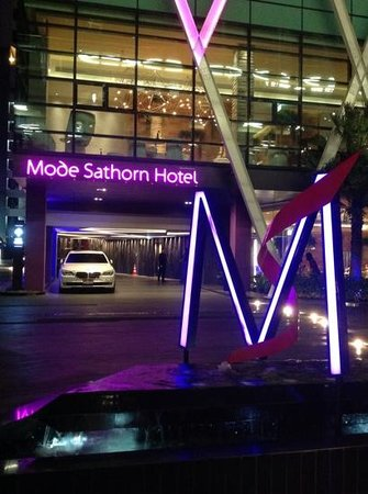 Mode Sathorn Hotel : Exceptionally good on every level