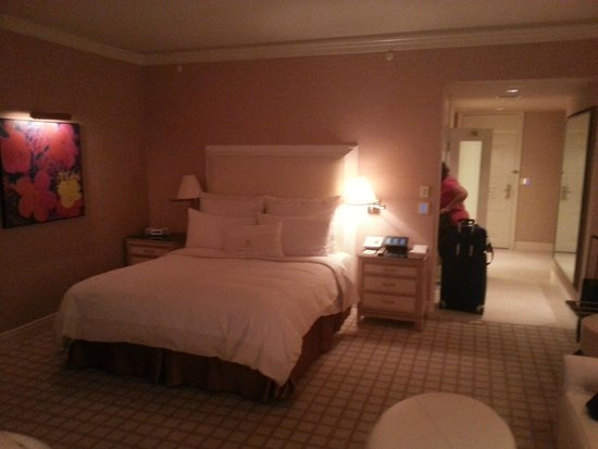 Wynn Las Vegas : Deluxe King Bedroom