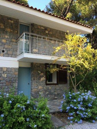 Club Med Gregolimano: Terrasse chambre parentale