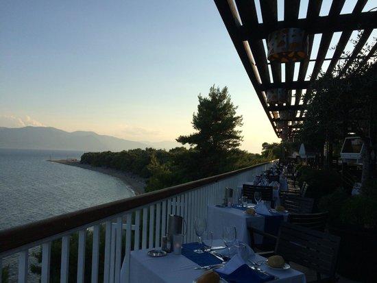 Club Med Gregolimano: Restaurant panoramique